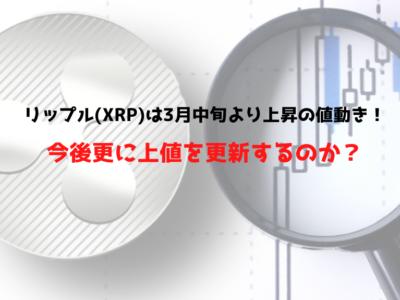 リップル(XRP)0321